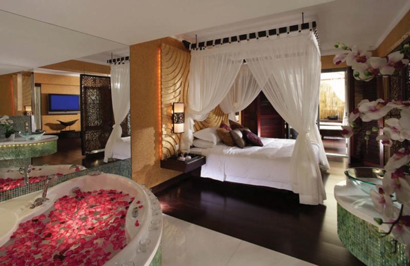 Spa suite at Regal Airport Hotel.