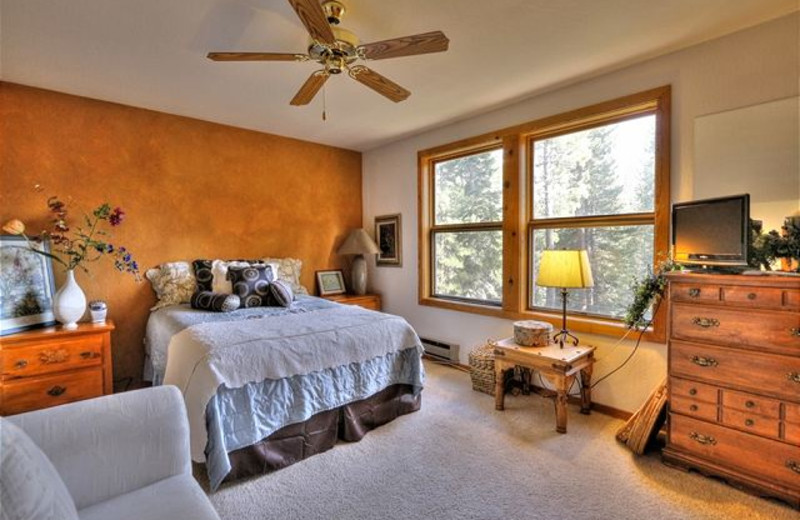 Master Bedroom at Tahoe Signature Properties