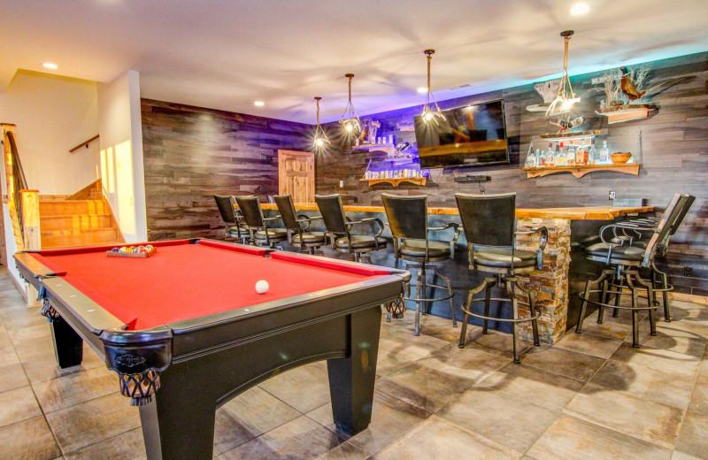 Bar at Double P Ranch.