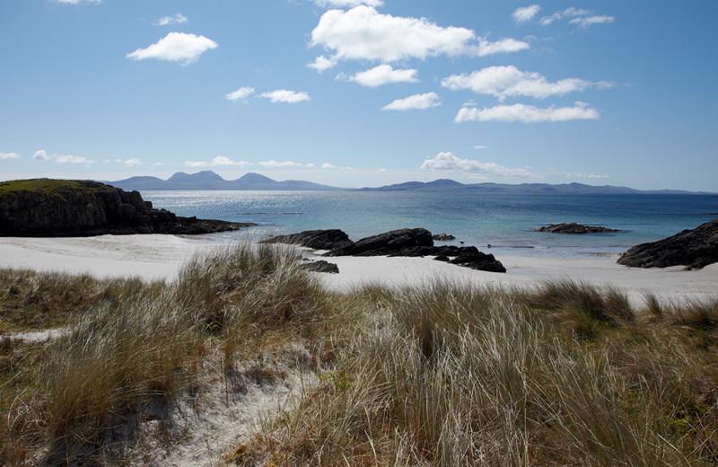Beach near Isle of Colonsay Hotel.