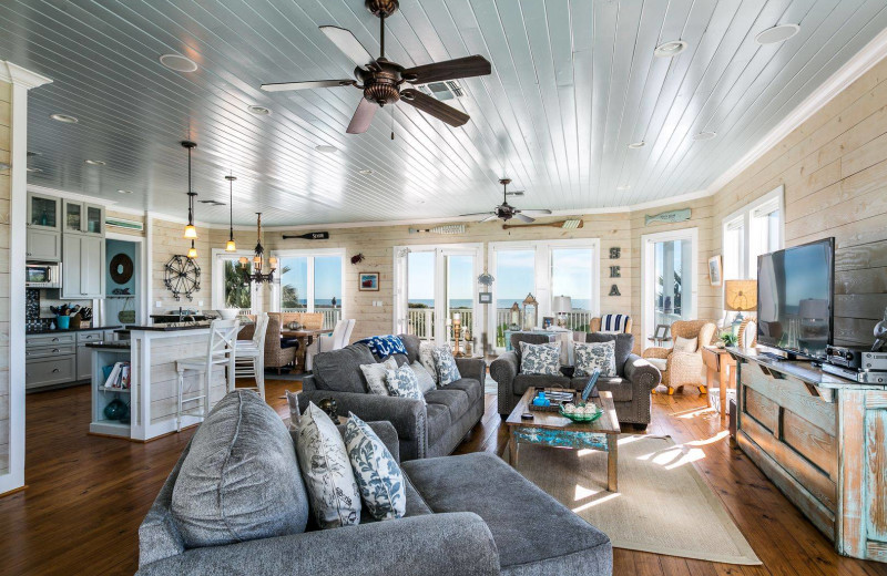 Rental interior at Gary Greene Vacation Rentals.