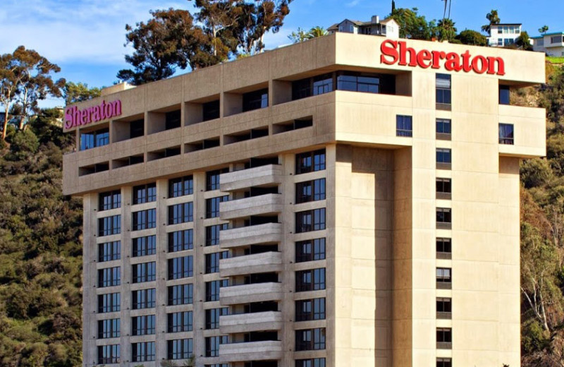 Exterior view of Sheraton San Diego Hotel, Mission Valley.