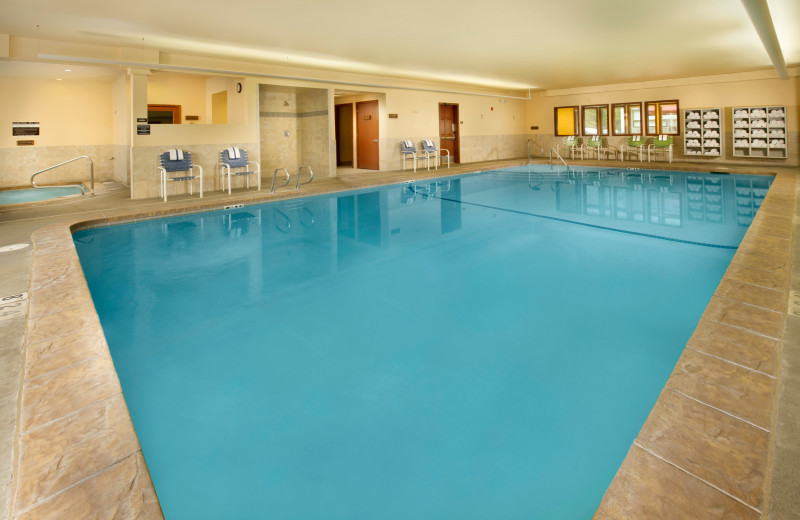 Indoor pool at The Tolovana Inn.