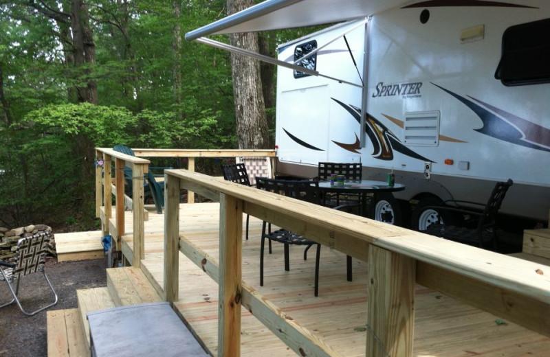 RV Site at Mount Pocono Campground