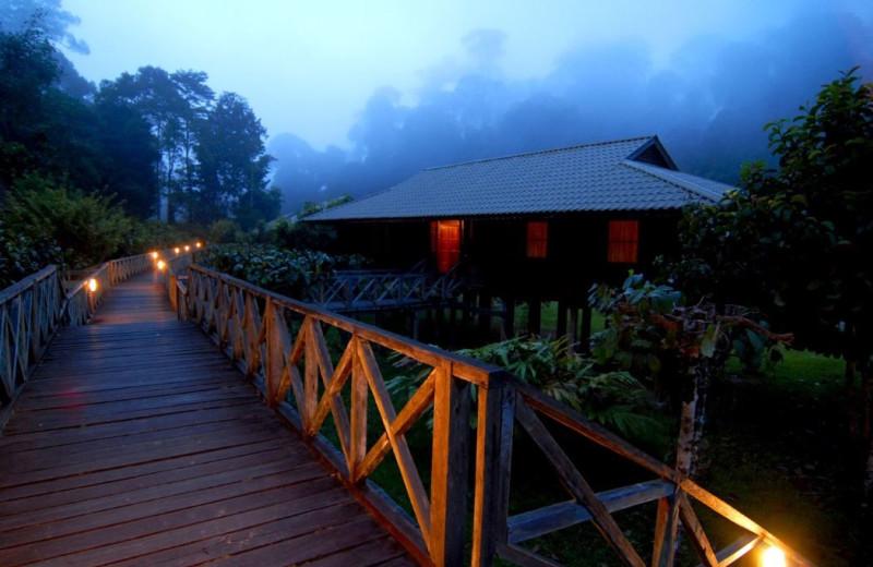 Villa at Borneo Rainforest Lodge.