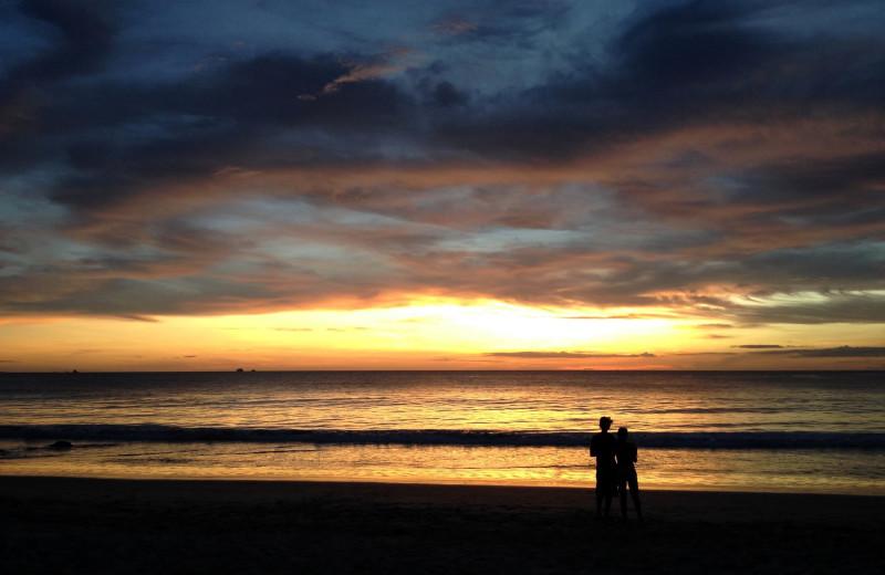 Beach at Vacation Rentals of Tamarindo.
