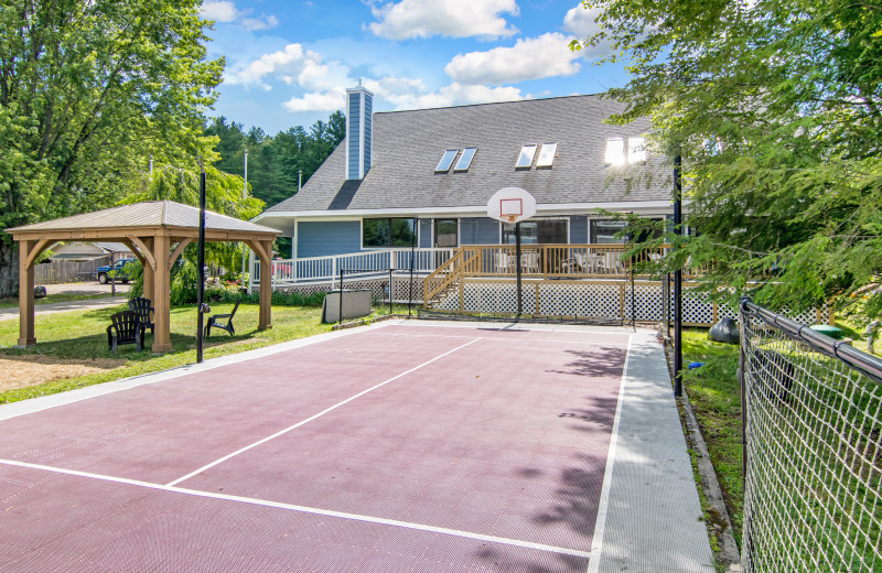 Grey Fox Inn Sport Court.