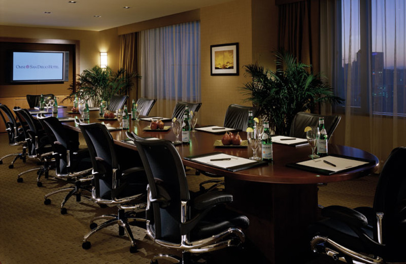 Skybox Boardroom at Omni San Diego Hotel.