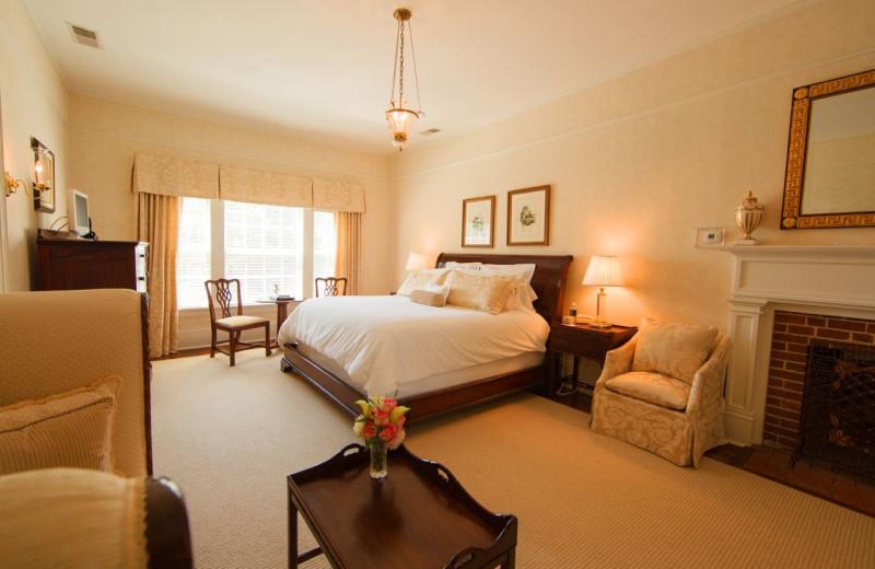 Guest room at Westglow Resort