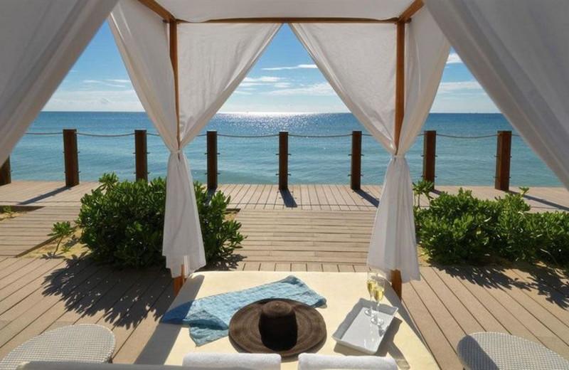 Patio at Grand Ocean Maya.