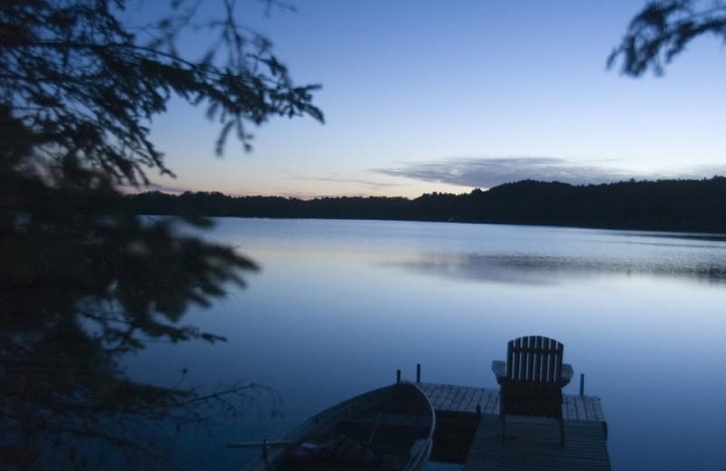 Lake view at Buckhorn on Caribou Lake.