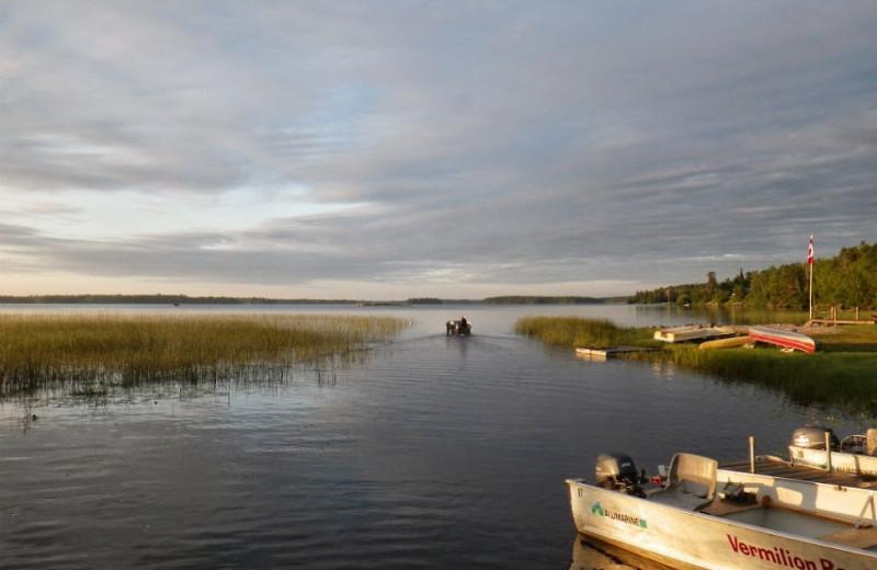Fishing at Vermilion Bay Lodge.