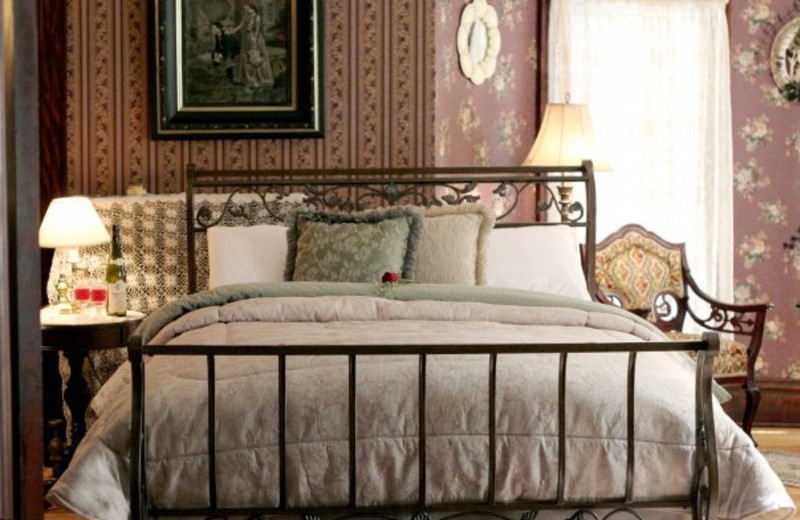 Guest Room at the Westby House Victorian Inn & Restaurant