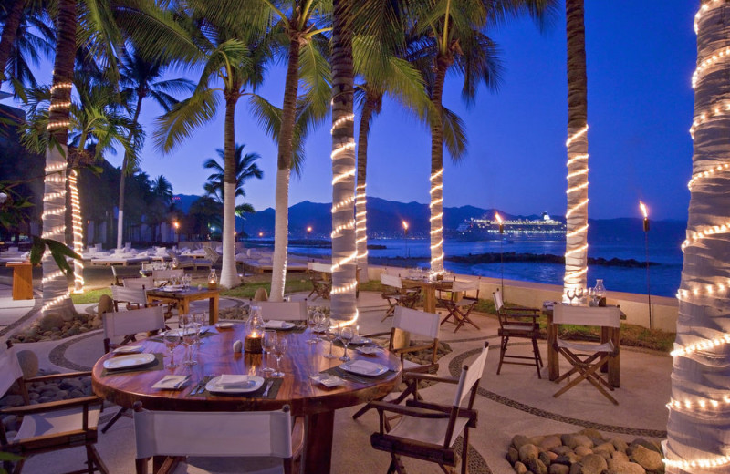 Dining at Westin Resort & Spa, Puerto Vallarta.