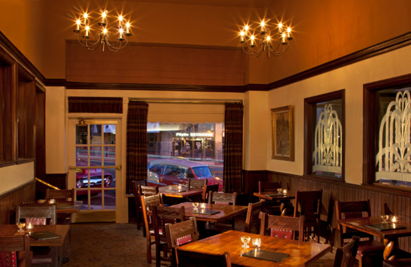 Dining area at Hassayampa Inn.