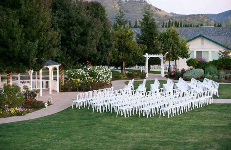 Outdoor Ceremony at Wonder Valley Ranch
