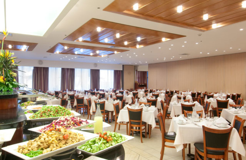 Dining at Ramada Jerusalem.