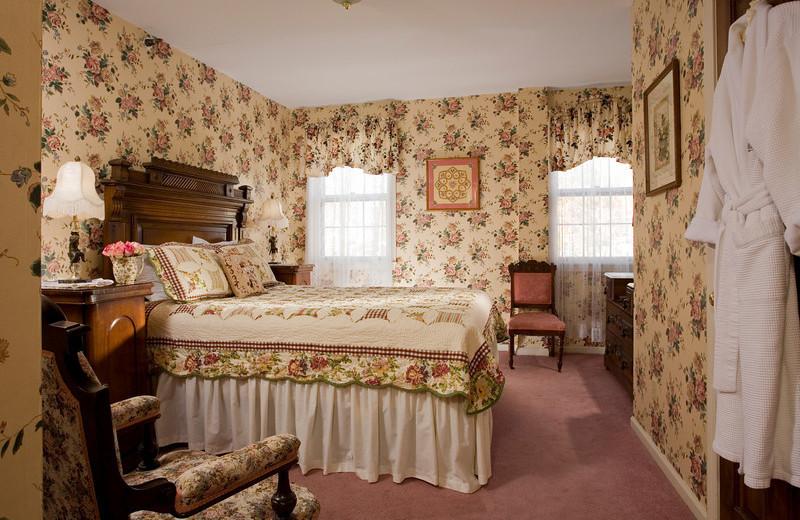 Heirloom room at The Rookwood Inn.