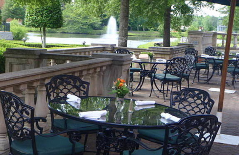 Patio at The Founders Inn