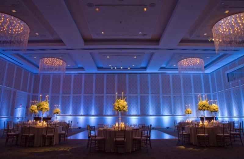 Wedding reception at Doral Arrowwood.