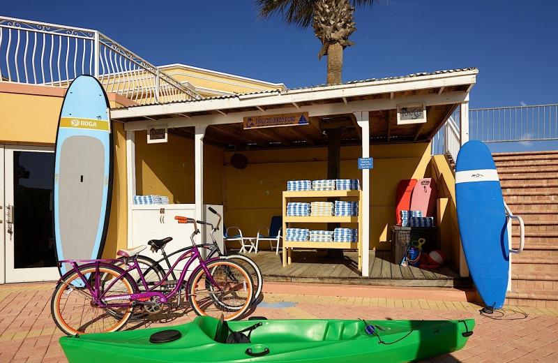 Beach activities at Plaza Resort & Spa.