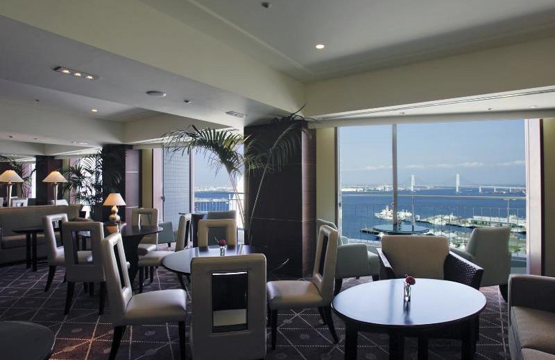 Dining at The Yokohama Bay Hotel Tokyu.