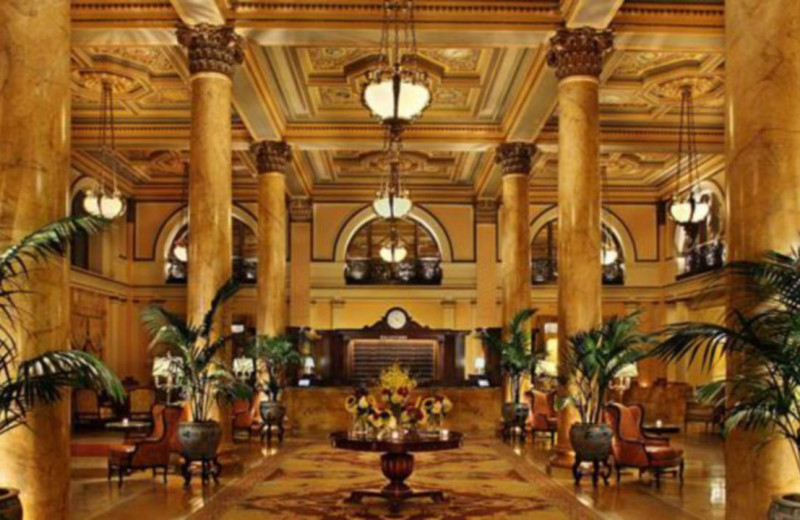 Lobby at Willard InterContinental Washington.