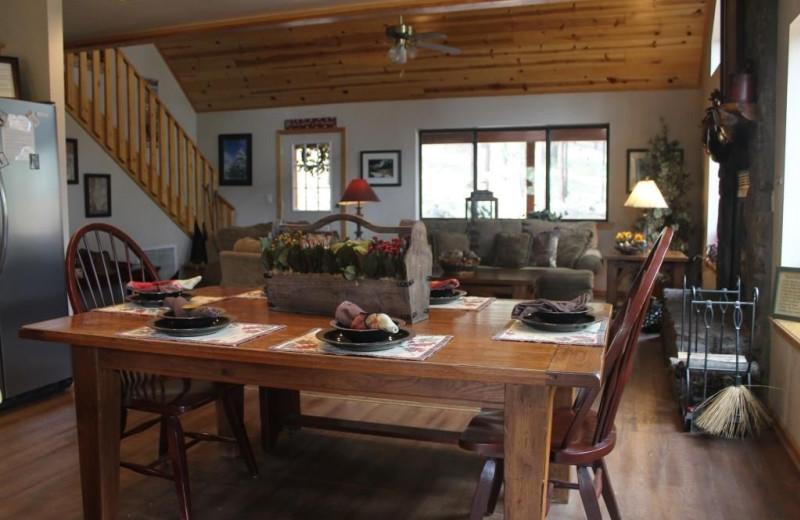 Interior at Acorn Lodge.