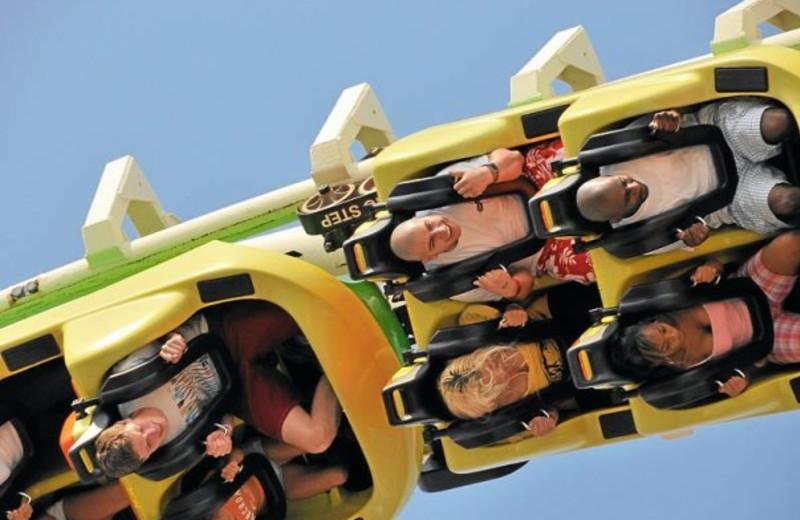 Roller Coaster at Moreys Pier Resorts
