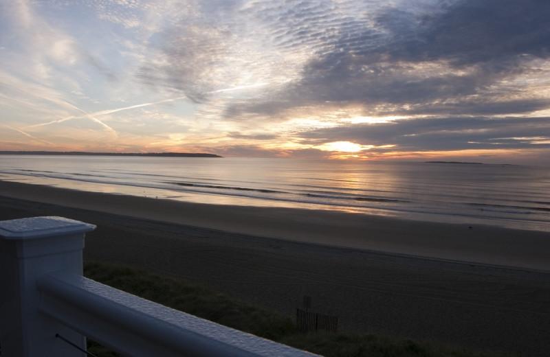 Beach view at Alouette Beach Resort.