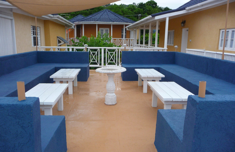 Exterior view of Moxons Beach Club.