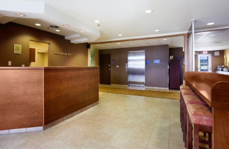 Lobby at Pronghorn Inn & Suites Rawlins.