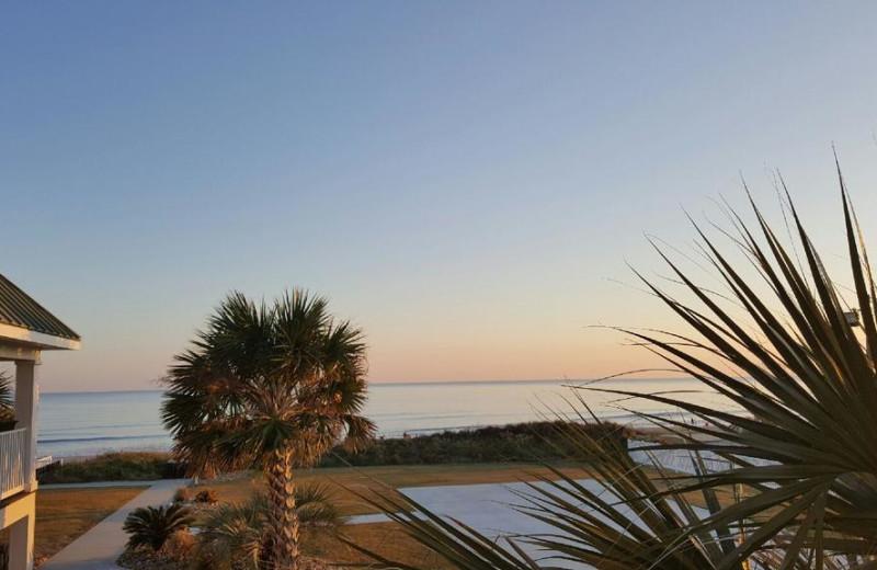 Beach at Islander Hotel & Resort.