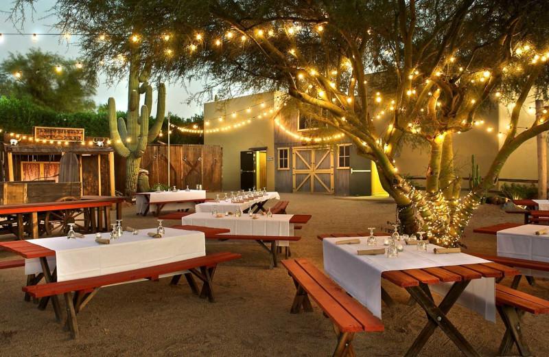 Dining at Carefree Resort & Villas.