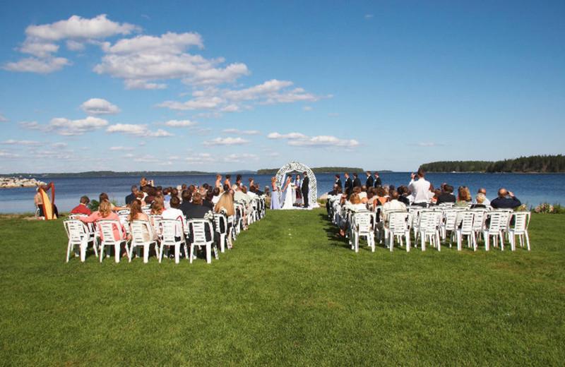 Wedding Ceremony at Atlantica Hotel