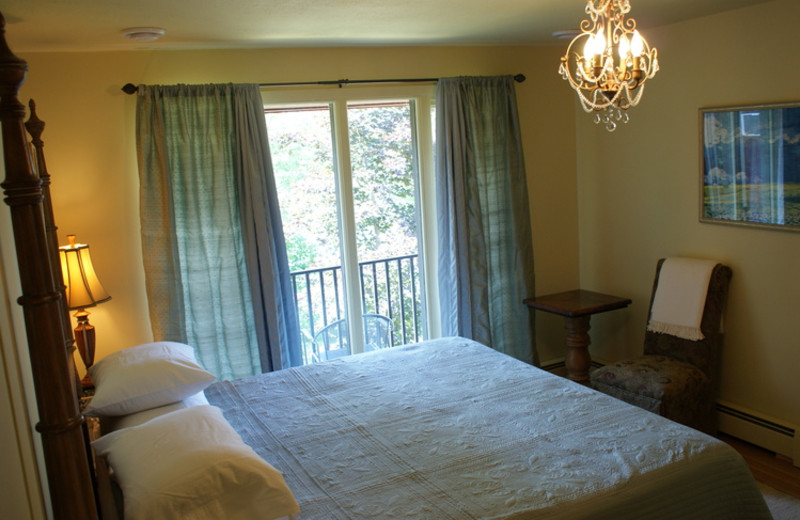 Guest room at Atypical Inn.