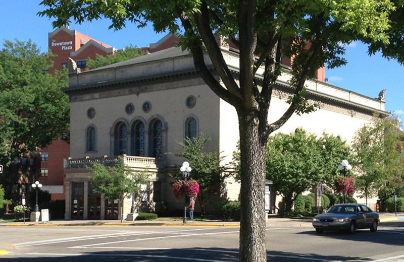 Theater near St. James Hotel.