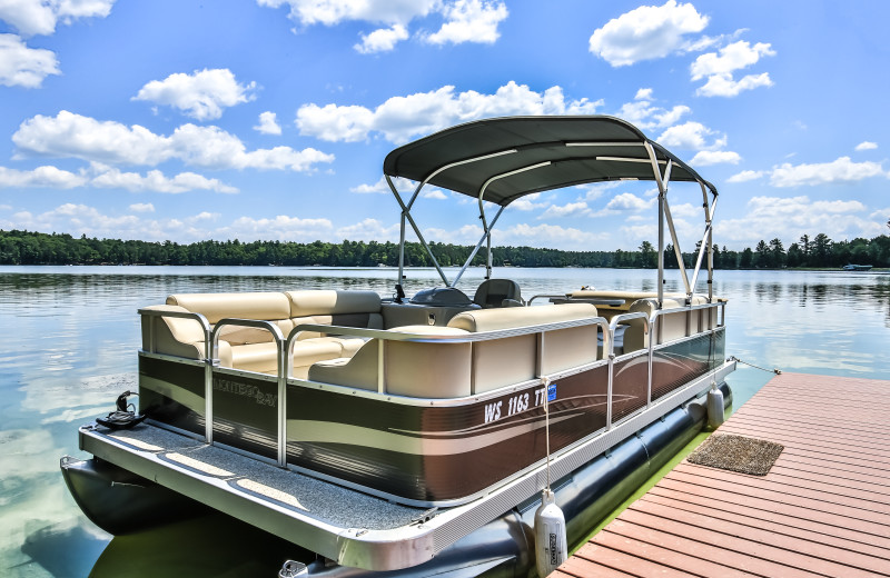 Pontoon Rentals at Serenity Bay Resort.