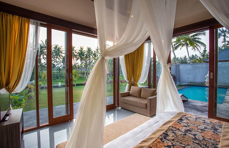 Guest room at Agung Raka Bungalows.