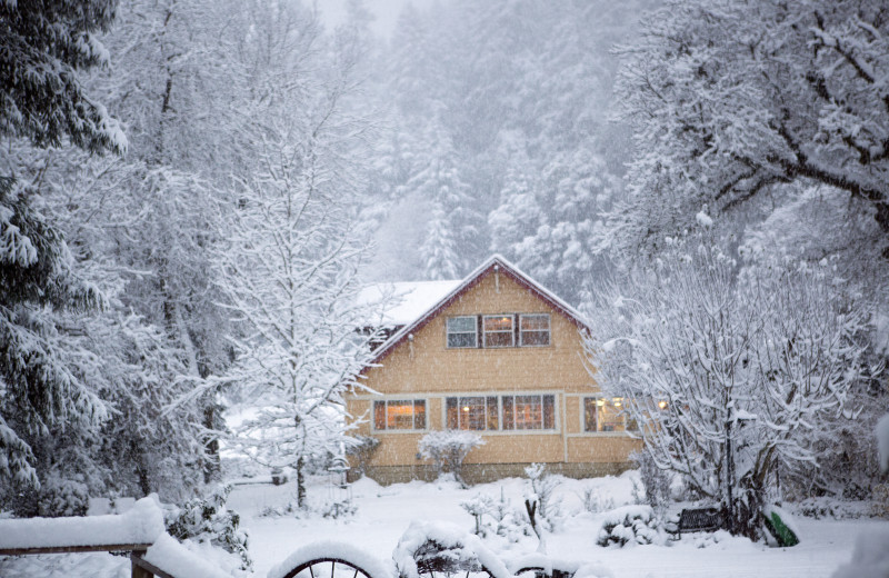 Winter at Marble Mountain Guest Ranch.