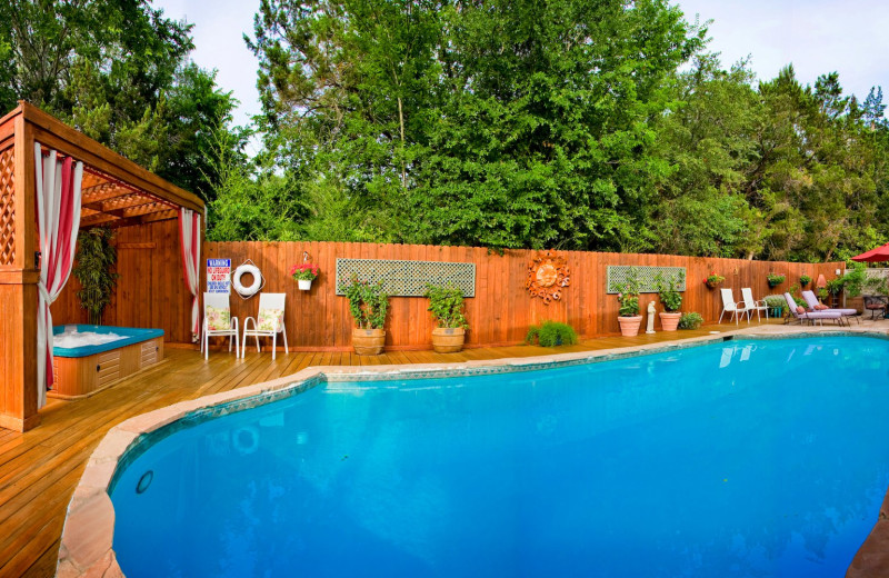 Outdoor pool at Lamb's Rest Inn.