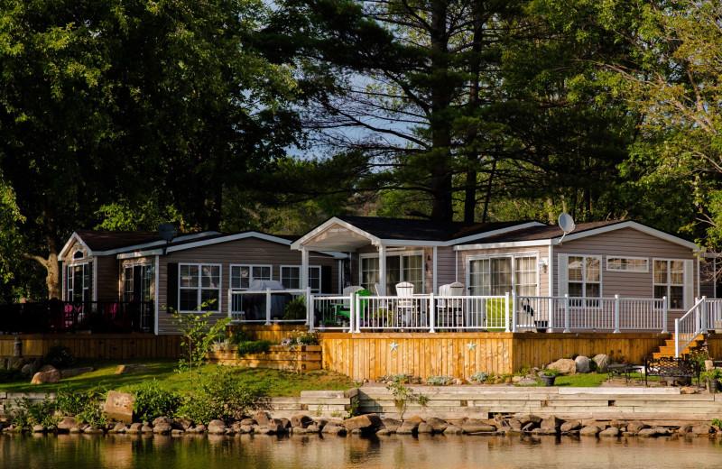 Cabin at Great Blue Resorts- Shamrock Bay Resort.