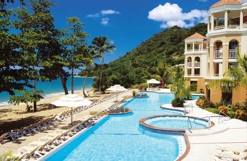 Exterior view of Rincon Beach Resort.