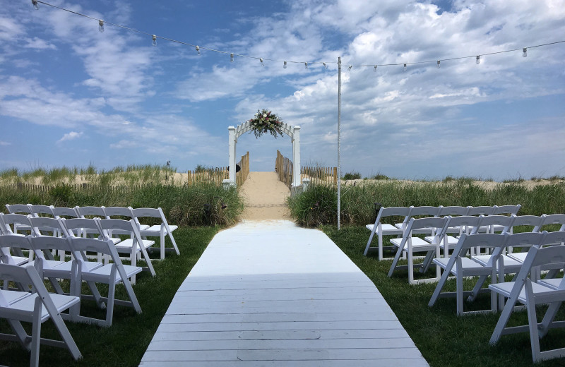 Wedding ceremony at The Addy Sea.
