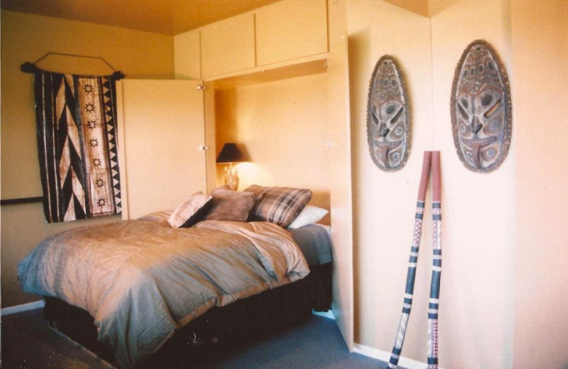 Guest room at Paniolo Ranch.