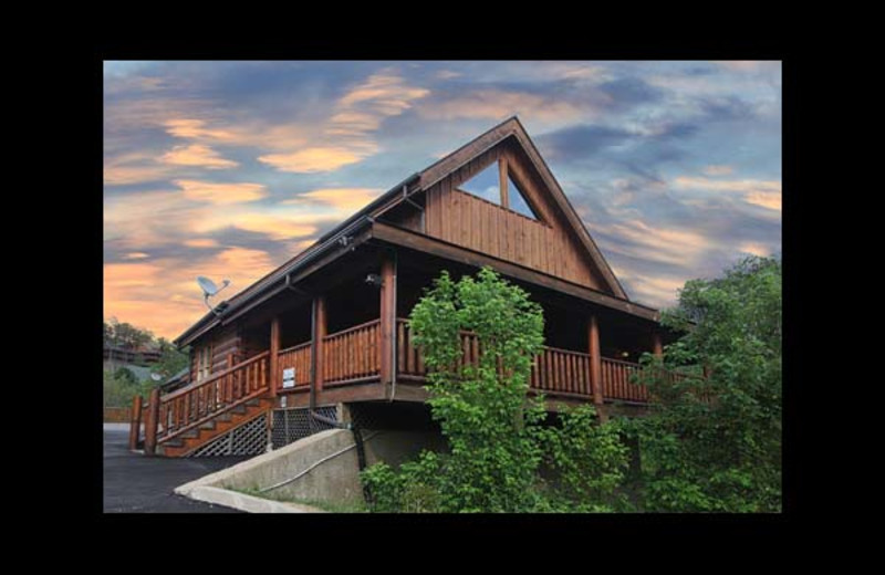 Merveilleux Cabin Exterior At Eden Crest Vacation Rentals, Inc.   Amazing Grace.