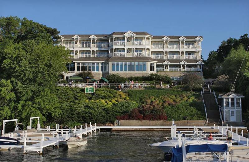 Exterior view of The Geneva Inn.