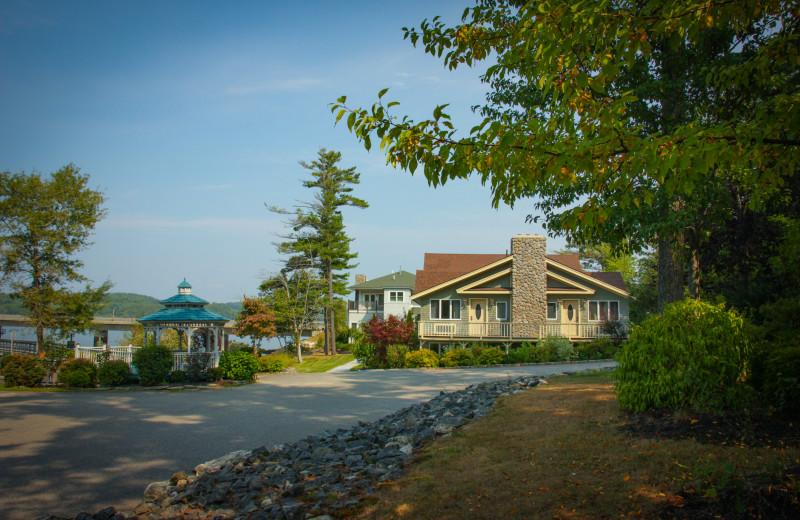Exterior view of Sheepscot Harbour Village & Resort.