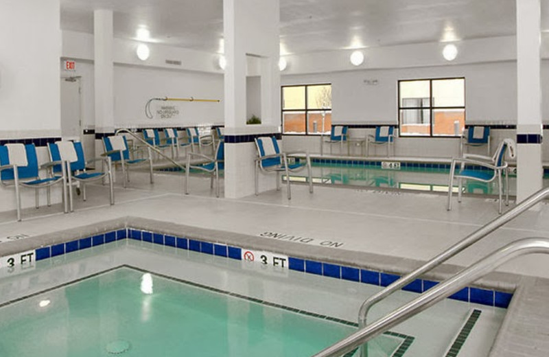 Indoor pool at TownePlace Suites by Marriott Erie.