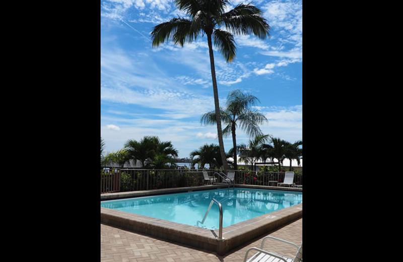 Outdoor pool at Sunrise Bay Resort & Club Condominium.